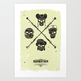 The Highwayman Art Print