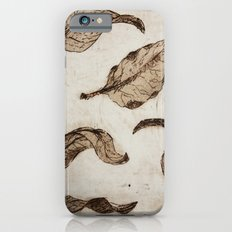 aquatint leaves iPhone 6s Slim Case