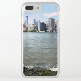 Lower Manhattan Clear iPhone Case