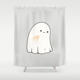Poor ghost Shower Curtain