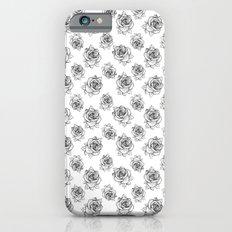Rose Line Pattern Slim Case iPhone 6s