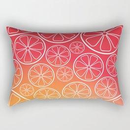 Citrus slices Rectangular Pillow