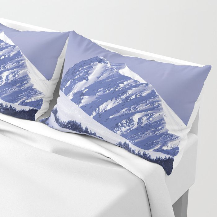 Back-Country Skiing - 8 Pillow Sham