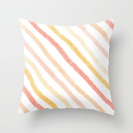 Pattern: Candy Stipes Throw Pillow
