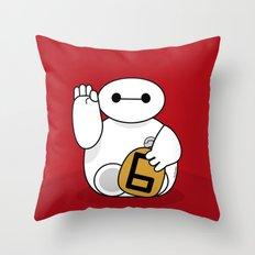 Maneki Bay max Throw Pillow