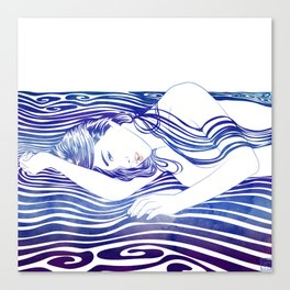 Water Nymph XXX Canvas Print