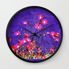 Coquetry floral Wall Clock