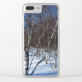 Ephemeral Joy Clear iPhone Case