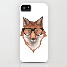 Sly Fox iPhone Case