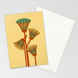 Ancient Egyptian lotus - Colorful Stationery Cards