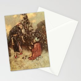 He Dropped The Rose by Edmund Dulac Stationery Cards