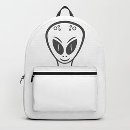 Space alien style Fashion Modern Design Print! UFO Flying saucer Backpack