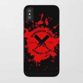 Winchester Arms Cricket Club iPhone Case