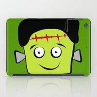 frankenstein iPad Cases featuring Frankenstein by Jessica Slater Design & Illustration