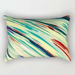 Retro Rush Rectangular Pillow