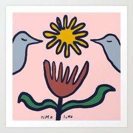 Bird the Alcyone Art Print