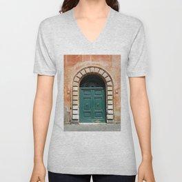 Door in Rome Unisex V-Neck
