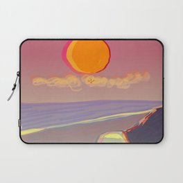 Red Moon Summer Vibrations Laptop Sleeve
