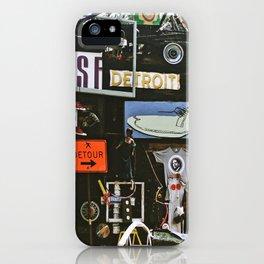 Detroit Heidelberg Project iPhone Case