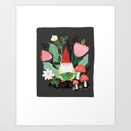 GNOME FRIEND Art Print