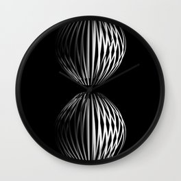 """Abstract Collection"" - Cloud Atlas Wall Clock"