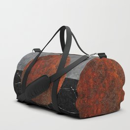 Abstract - Marble, Concrete, and Rusted Iron II Duffle Bag