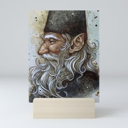 Wise Gnome Mini Art Print