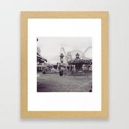 Wildwood Boardwalk Framed Art Print