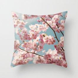 Cherry Soda Throw Pillow