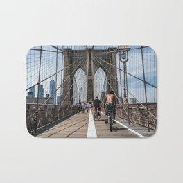 Brooklyn Bridge, New York City Bath Mat