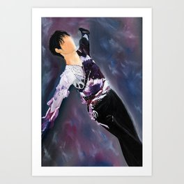 Yuzuru Hanyu Painting Junior Costume Art Print