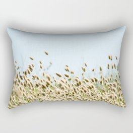 Summer beach land Rectangular Pillow