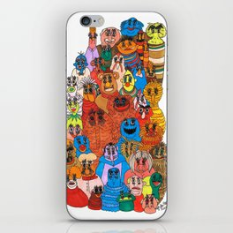 moppets iPhone Skin