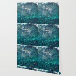Surfing in the Ocean 2 Wallpaper