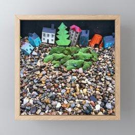 Fairy Town Framed Mini Art Print