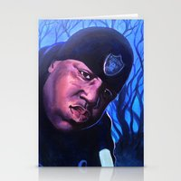 notorious Stationery Cards featuring Notorious by JRAC