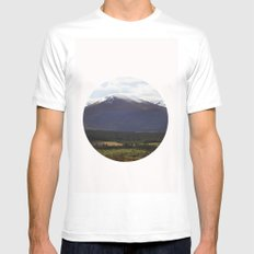 highlands Mens Fitted Tee White MEDIUM