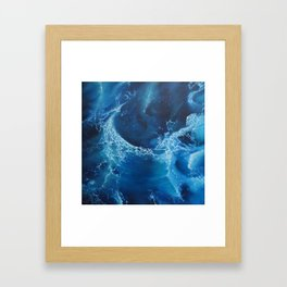 The Gulf Framed Art Print