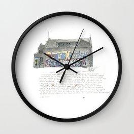 46 Fredrick Street Wall Clock