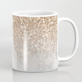 Sparkle - Gold Glitter and Marble Coffee Mug