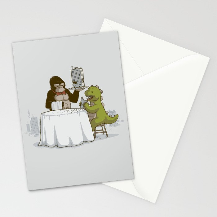 Crunchy Meal Stationery Cards