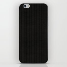 Antiallergenic Hand Knitted Black Wool Pattern - Mix & Match with Simplicty of life iPhone Skin
