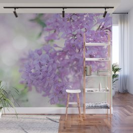 Lilacs in the Morning Wall Mural