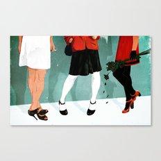 Three Marlenas Canvas Print