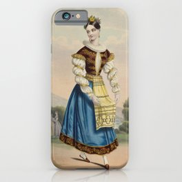 Larue AndreLeon ArtistWallachia iPhone Case
