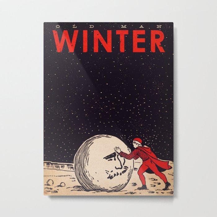 Old Man Winter Metal Print