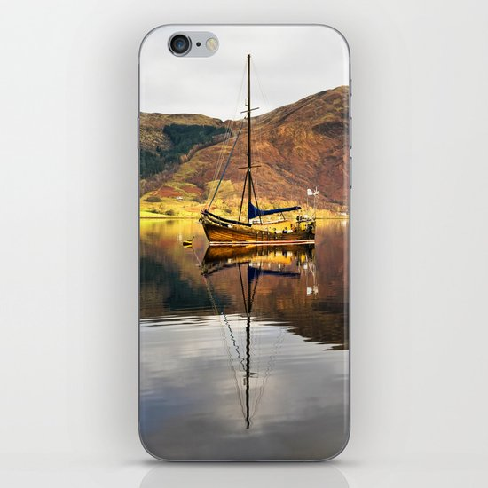 Sailboat Reflections iPhone & iPod Skin