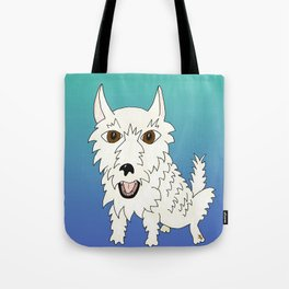 Basic Westie Tote Bag
