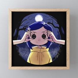 Coraline Framed Mini Art Print