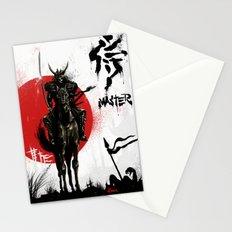 Samurai Master Stationery Cards